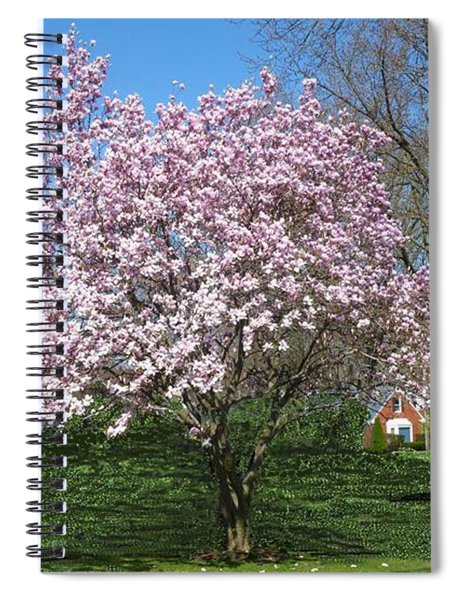 Early Blooms Spiral Notebook