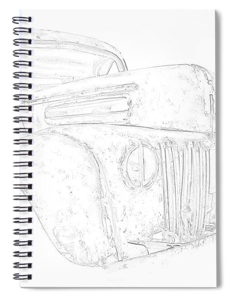 Early Ford Truck Spiral Notebook
