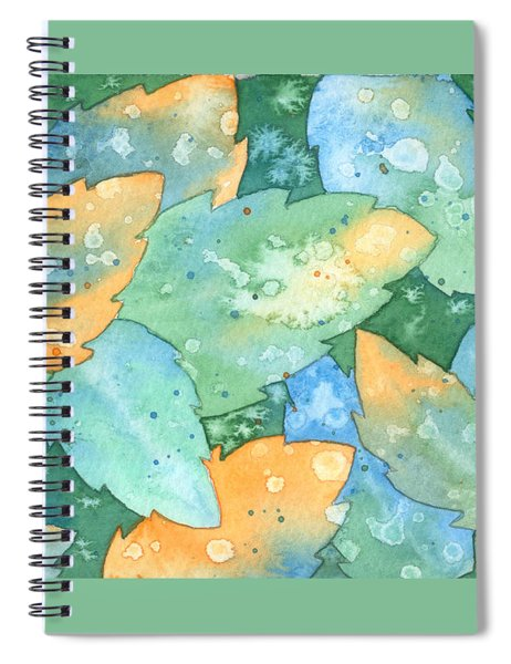 Early Frost Watercolor Spiral Notebook
