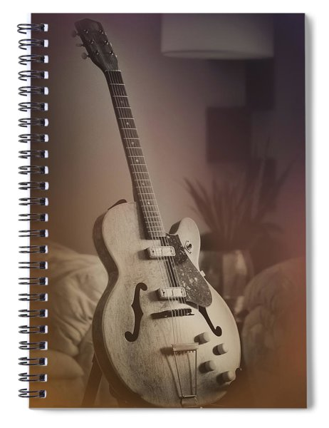 Early Harmony Rocket H54 Refinished Spiral Notebook