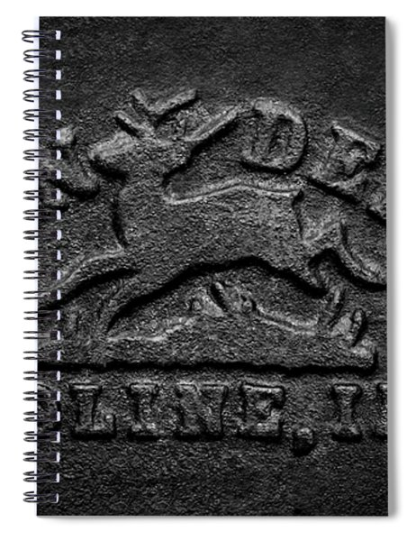 Early John Deere Emblem Spiral Notebook
