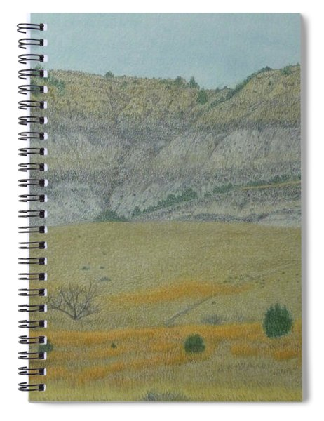 Early May On The Western Edge Spiral Notebook
