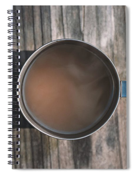 Early Morning Coffee  Spiral Notebook by Scott Norris