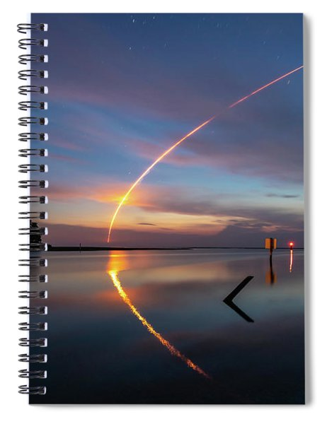 Early Morning Launch Spiral Notebook