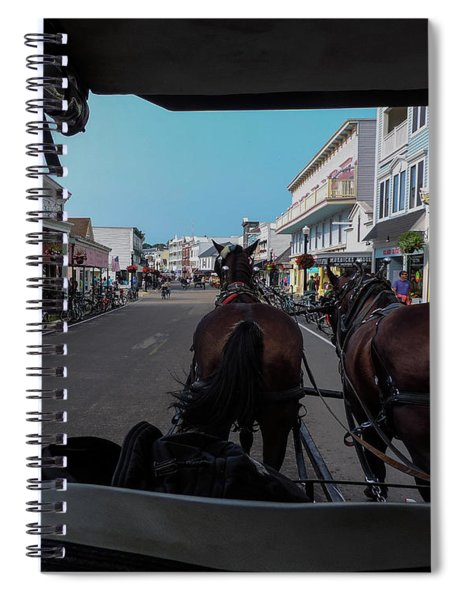 Early Morning Mackinac Island Spiral Notebook