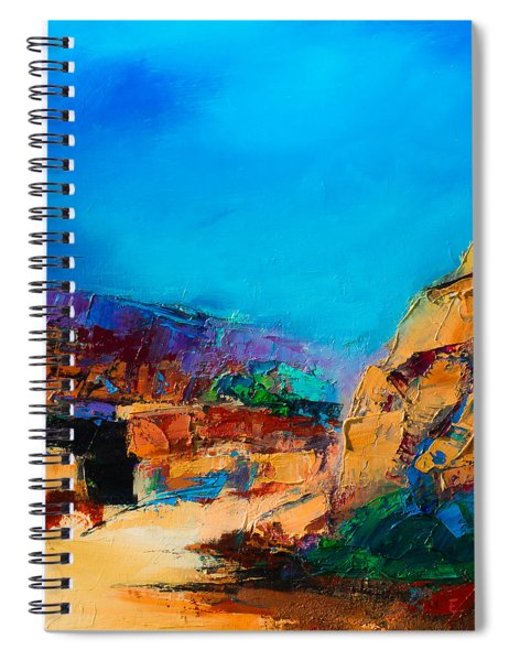 Early Morning Over The Canyon Spiral Notebook