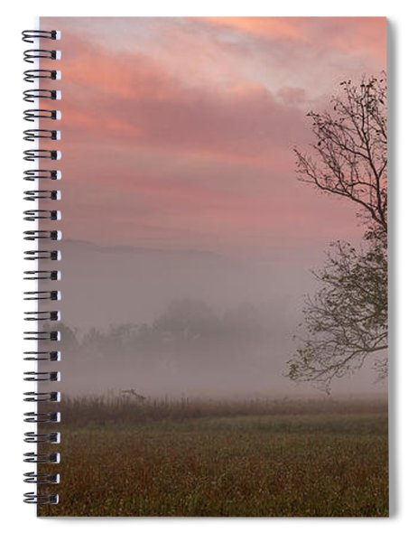 Early Morning Promises Spiral Notebook