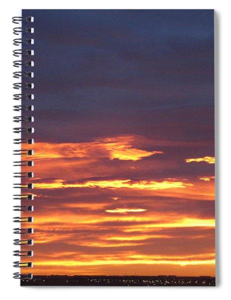 Early Prairie Sunrise Spiral Notebook