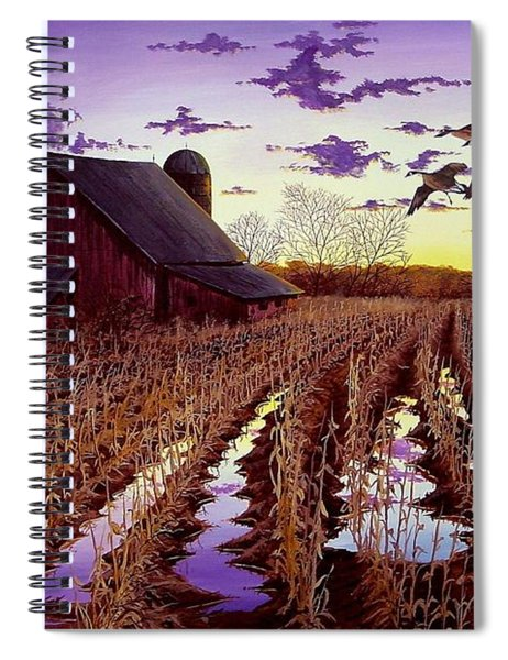 Early Return Spiral Notebook