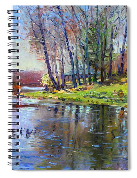 Early Spring In Bear Mountain Spiral Notebook