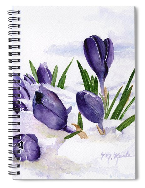 Early Spring In Montana Spiral Notebook