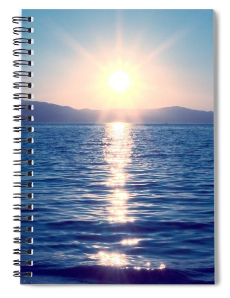 Early Sunset Spiral Notebook