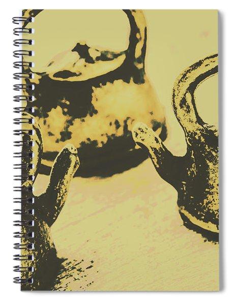 Early Vintage Tea Spiral Notebook
