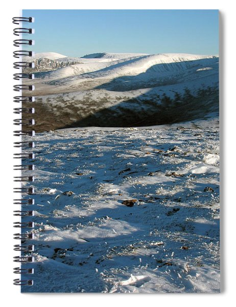 Early Winter In The Cairngorms  Spiral Notebook