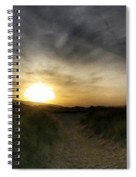 Early Winter Sun Spiral Notebook