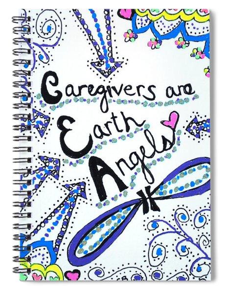 Earth Angel Spiral Notebook