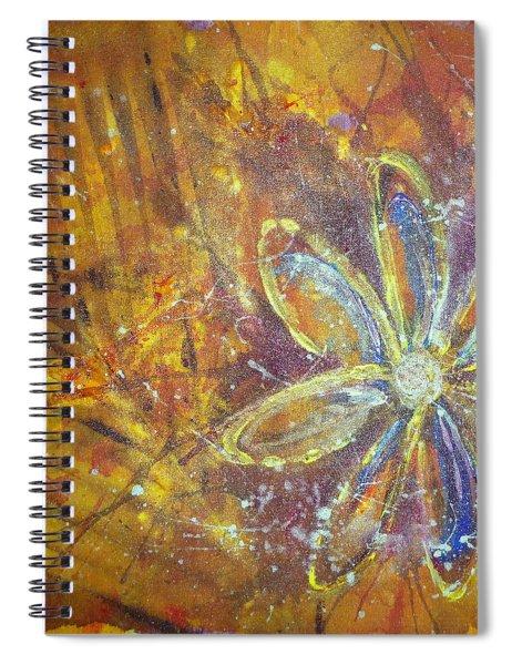 Earth Flower Spiral Notebook