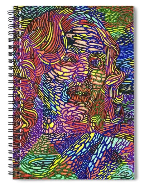 Earth Goddess Spiral Notebook