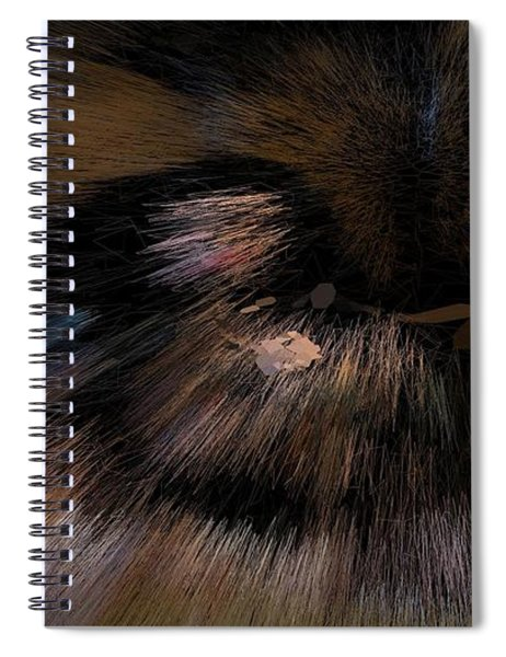 Earth Implosion Spiral Notebook