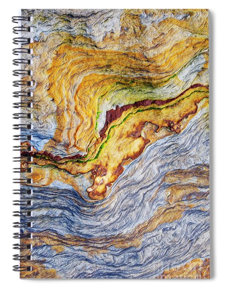 Earth Stone Spiral Notebook