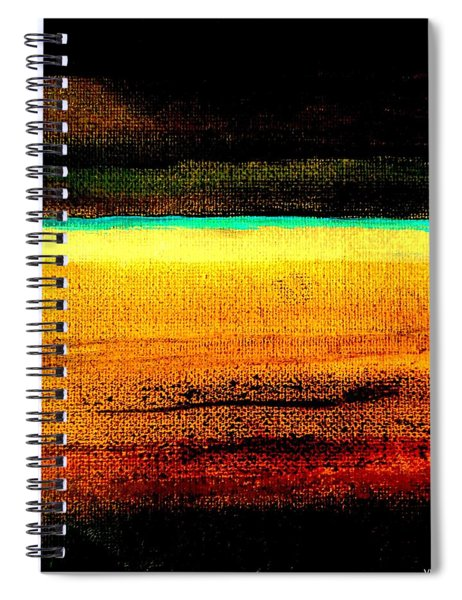 Earth Stories Abstract Spiral Notebook