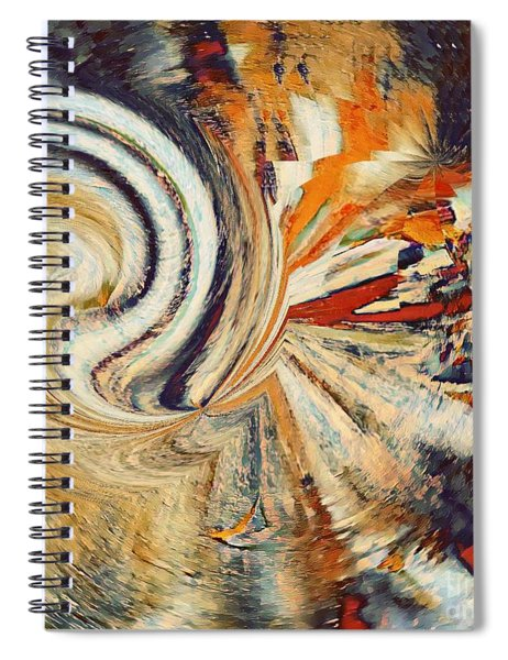 Earth Tones Spiral Notebook