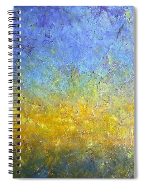 Earth Vibration Spiral Notebook