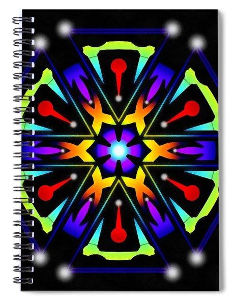 Earthscape Six Spiral Notebook by Derek Gedney