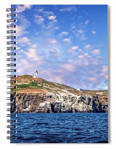 East Anacapa Island Spiral Notebook