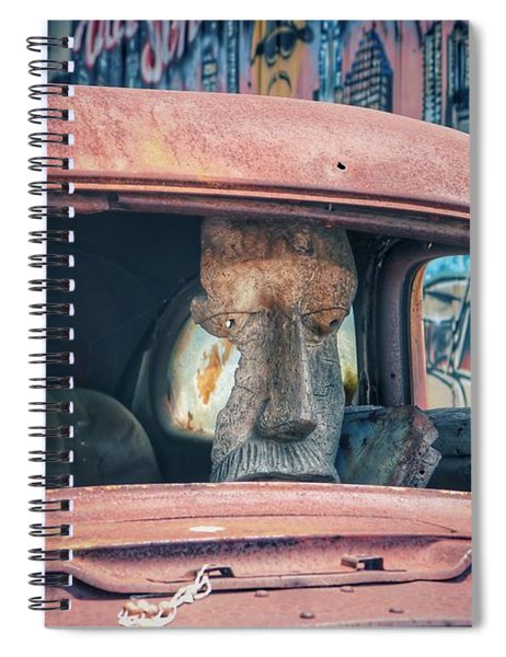Eastside Golem Spiral Notebook