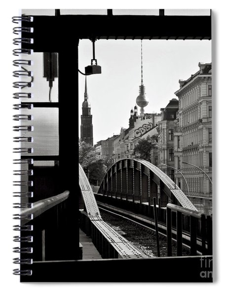 East Berlin Sound  Spiral Notebook