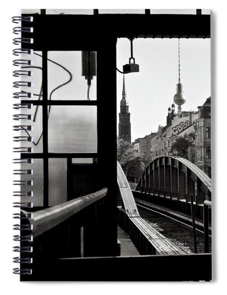 East Berlin Sound  Spiral Notebook