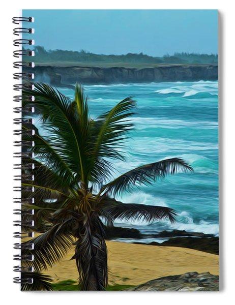 East Coast Bay Spiral Notebook