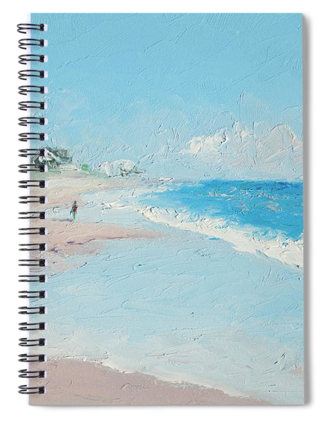 East Hampton Beach Spiral Notebook