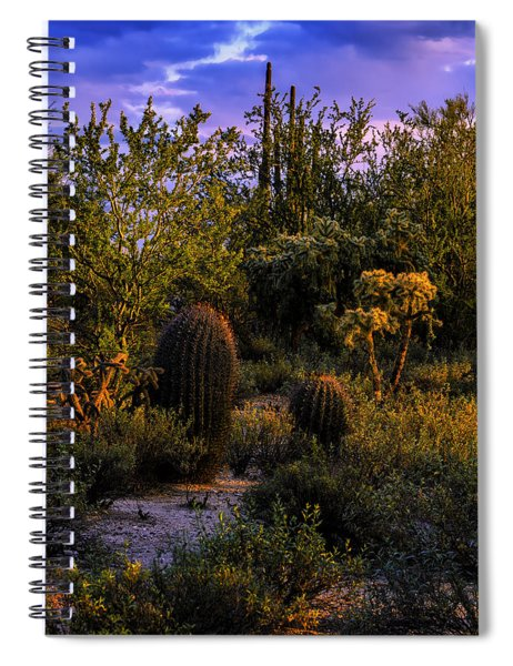 East Of Sunset V40 Spiral Notebook