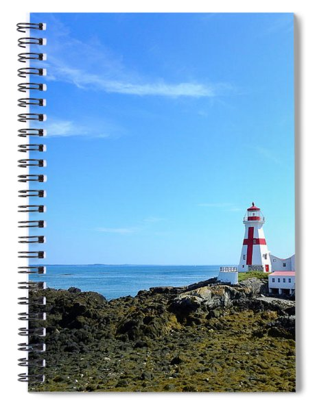 East Quoddy Lighthouse Spiral Notebook