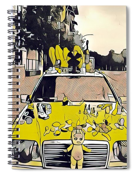 East Side Electric Spiral Notebook