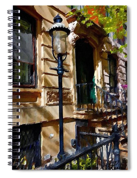East Village New York Townhouse Spiral Notebook