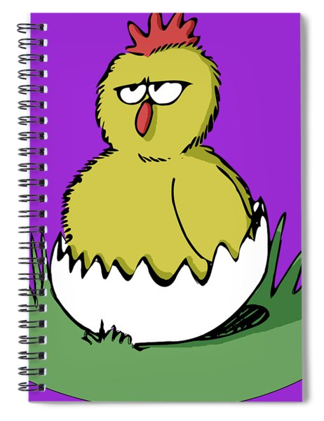 Easter Chicken Spiral Notebook