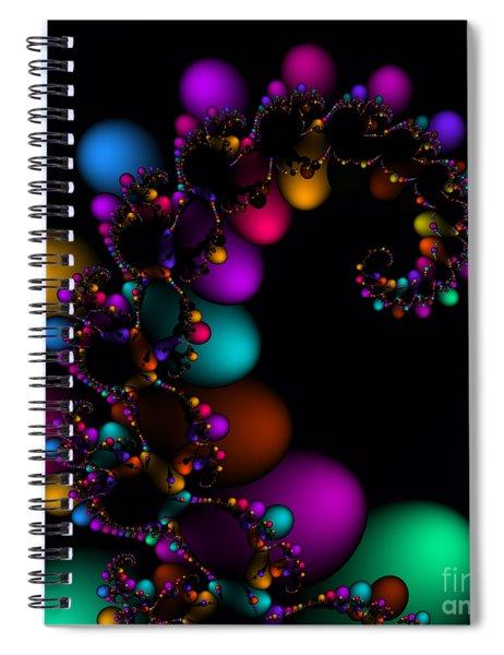 Easter Dna Galaxy 111 Spiral Notebook