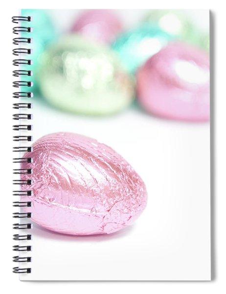 Easter Eggs II Spiral Notebook
