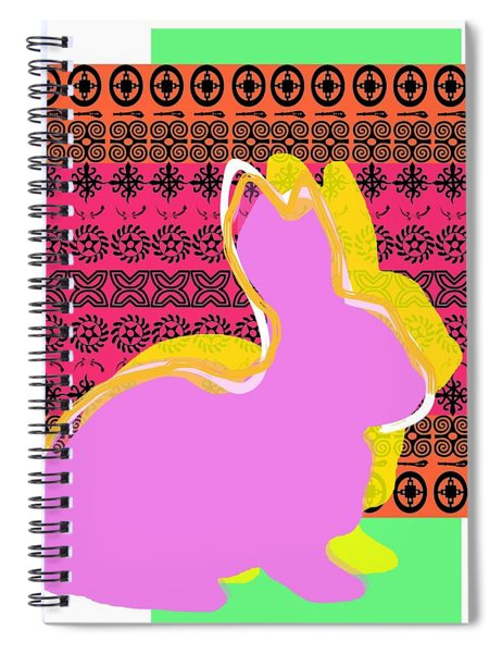 Easter Greetings Spiral Notebook