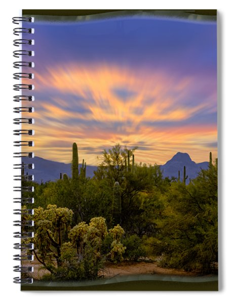 Easter Sunset H18 Spiral Notebook