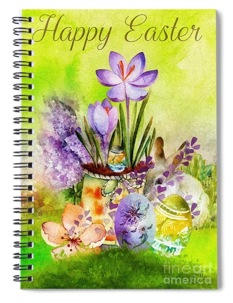 Easter Time Spiral Notebook