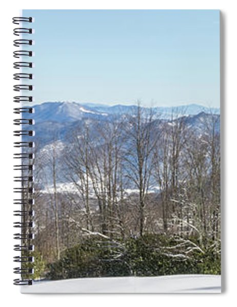 Easterly Winter View Spiral Notebook