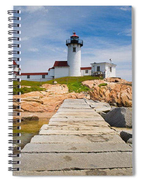 Eastern Point Lighthouse Spiral Notebook