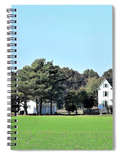 Eastern Shore Farm Spiral Notebook