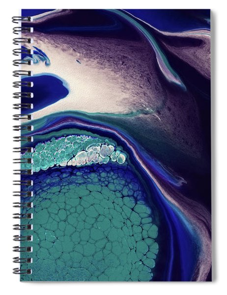 Eat The Fish Spiral Notebook