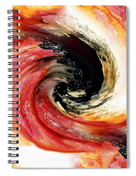 Ebb And Flow In The Macrocosm Spiral Notebook