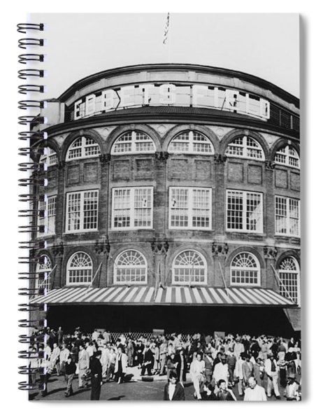 Ebbets Field, Brooklyn, Nyc Spiral Notebook
